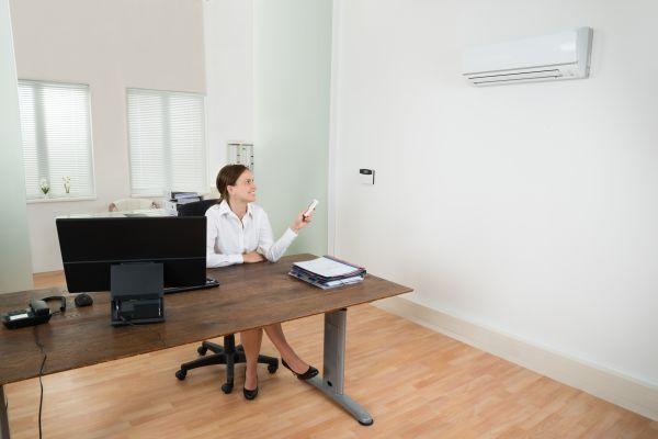 Klimatizált iroda